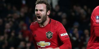 Juan Mata's goal after 67 minutes proved the difference for Manchester United