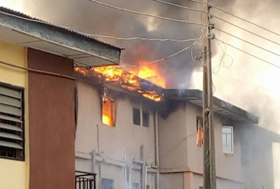 Fire Outbreak in Ketu, Lagos