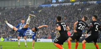Alireza Jahanbakhsh has scored two goals in his last two games for Brighton