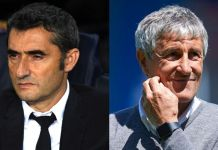 Ernesto Valverde has been sacked by Barcelona with Quique Setien named their new coach
