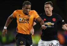 Wolves forward Adama Traore has four goals and four assists this season