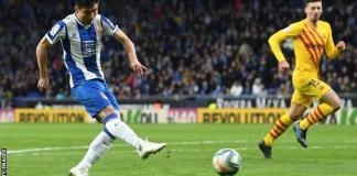 Wu Lei has scored six goals for Espanyol this season