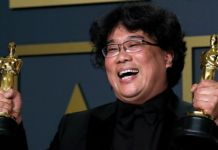 Bong Joon-ho won best director and best original screenplay as well as best picture