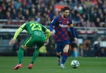 Lionel Messi scored four times as Barcelona thrashed Eibar 5-0