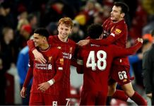 Liverpool's youngest team beat Shrewsbury to reach FA Cup fifth round