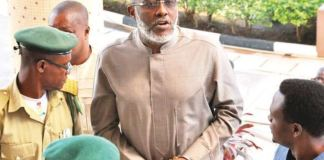 Olisa Metuh was jailed seven years for N400 million fraud