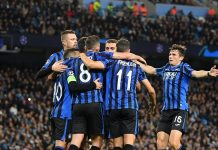 Atalanta have one foot in the UCL Quarter finals