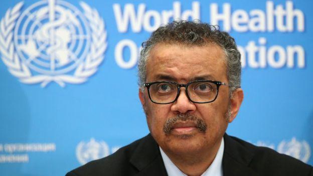 Dr Tedros Adhanom Ghebreyesus, DG World Health Organization (WHO) has warned against lifting lockdown early