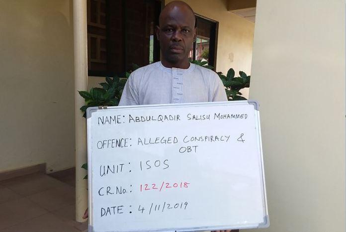 Ex-NNPC staff Abdulkadir Mohammed Salihu was arraigned for fraud