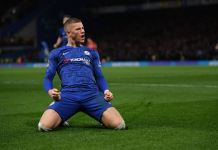 Ross Barkley scored Chelsea's goal against Liverpool in the FA Cup fourth round