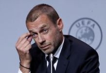 UEFA boss, Alexander Ceferin says season could be lost