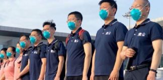 CCECC Chinese medical team has arrived Nigeria to help with COVID-19 containment and treatment