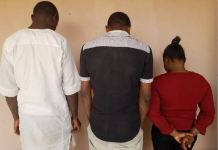 EFCC arraigned three Union Bank staff for stealing from the National Homegrown School Feeding Programme
