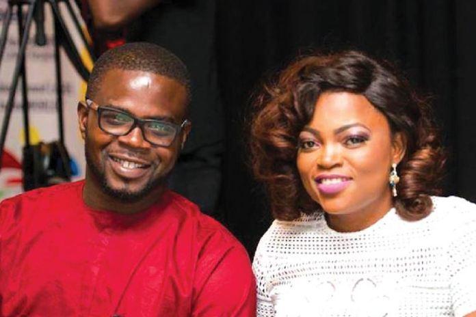 Funke Akindele and her husband JJC Skillz