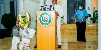 Governor Dapo Abiodun of Ogun State providing COVID-19 updates