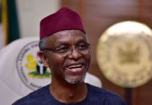 Governor Nasir El-Rufai of Kaduna says Presidency should return to the South in 2023