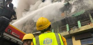LASEMA says two shops were gutted in Idumota, Lagos state