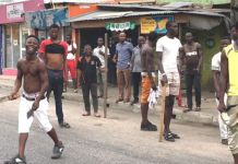 Lagos and Ogun residents have taken it upon themselves to guard their homes following fears of an attack by robbery groups