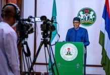 President Muhammadu Buhari announced an additional 14-day lockdown extension