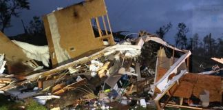 The tornadoes have ravaged Louisiana, Texas and Mississippi