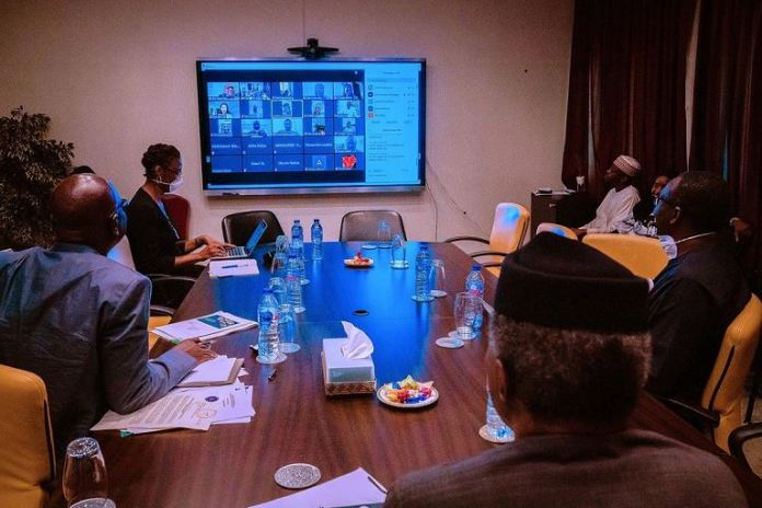 Vice President Yemi Osinbajo chairs the Economic Sustainability Council nec