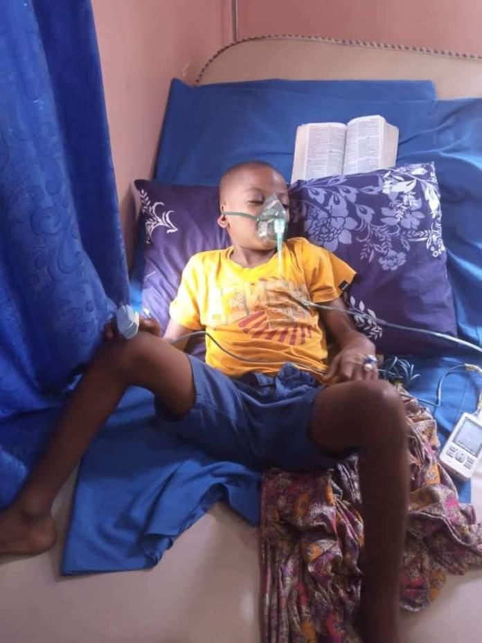 Prosper Chiebuka Chinonso needs N25 million for bone marrow transplant
