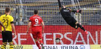 Joshua Kimmich scored the only goal as Bayern Munich beat Borussia Dortmund