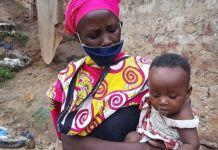 Peninah Bahati Kitsao says the help she has received is a miracle PHOTO: CAROLINE MWAWASI/TUKO
