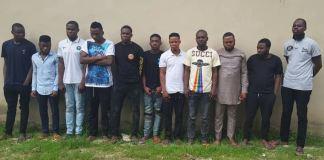 EFCC arrests internet fraudsters in Lagos and Ogun