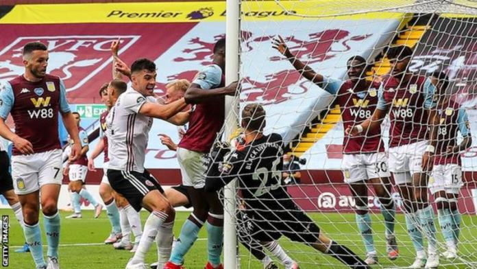 Hawkeye said that the view had never been as blocked before in more than 9,000 matches Sheffield United