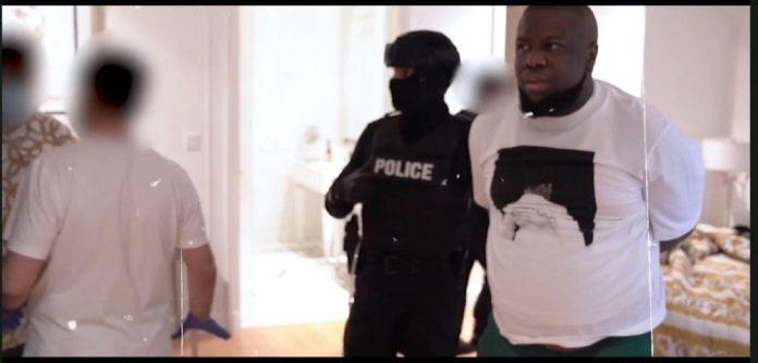Hushpuppi arrested by Dubai policemen