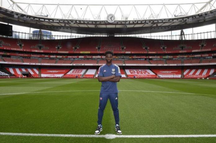 Bukayo Saka has played 37 times for Arsenal