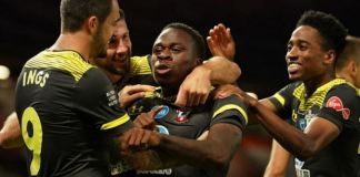 Michael Obafemi's 96th-minute equaliser prevented Manchester United from jumping up to third place