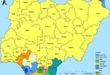 Niger Delta Region in Nigeria
