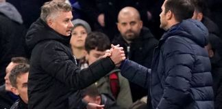 Ole Gunnar Solskjaer's Manchester United have met Frank Lampard's Chelsea three times and have won all three matches
