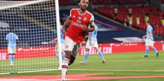 Pierre-Emerick Aubameyang scored twice as Arsenal reached the FA Cup final
