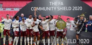 Arsenal beat Liverpool on penalties to win the Community Shield