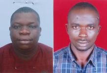 Friday David and Ikechukwu Utobo are the two Port Harcourt oil thieves jailed