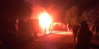 InEC office on fire in Ondo