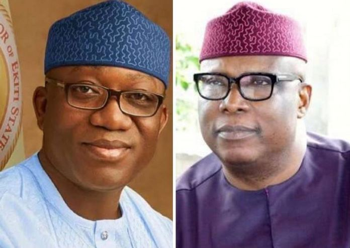Governor Kayode Fayemi and Senator Babafemi Ojudu were allies in the past APC