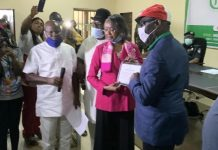 Obaseki receives his Certificate of Return