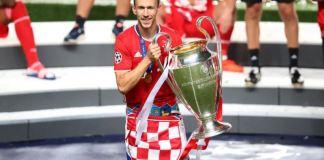 Ivan Perisic spent last season on loan at Bayern Munich from Inter Milan