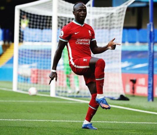 Sadio Mane scored twice as Liverpool beat Chelsea at Stamford Bridge