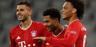 Serge Gnabry and Leroy Sane scored for Bayern Munich in the demolition of Schalke