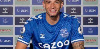 Ben Godfrey has joined Everton from Norwich City1