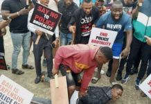 EndSARS protesters have gone rampage in the south of Nigeria