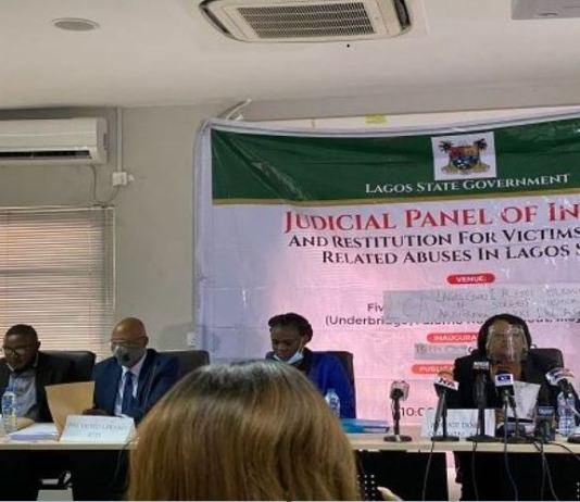 CNN Lagos Judicial Panel of Inquiry begun sitting on Tuesday, 27 October 2020