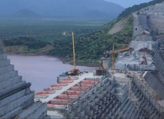 The dam will be the biggest hydro-electric project in Africa