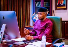 Vice President Yemi Osinbajo SAN declares open the Yusuf Ali & Co webinar on designing a World Class Public Private Partnership