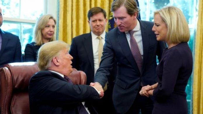 Chris Krebs, a former Microsoft executive was a Trump appointee